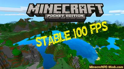 Stable 60-100 FPS Minecraft PE Texture Pack 1.2.0, 1.1.5, 1.1.0