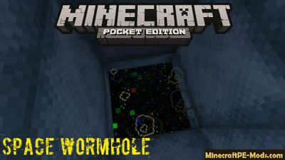 Space Wormhole Minecraft PE Map