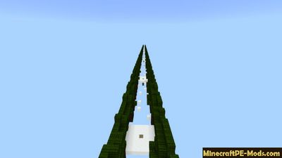 Cold Parkour Minecraft PE - iOS - Android Map