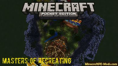 Masters Of Recreating Minecraft PE Server