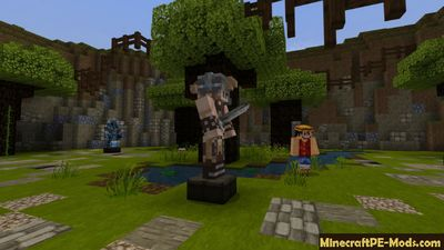 Gladiator Way of PvP Minecraft PE Server