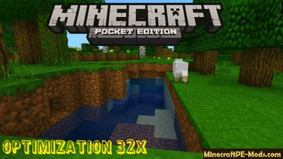 Optimization 32x Minecraft PE Texture Pack 1.2.0, 1.1.5, 1.0.0