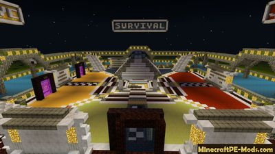 Mini Classic Minecraft PE Server