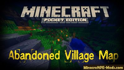 Abandoned Village Minecraft PE Map