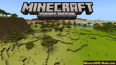 Acacia Biome & Diamond Caves Minecraft PE Seed