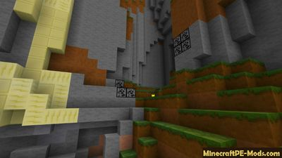 Simplified Mining 16x Minecraft PE Texture Pack 1.2.0, 1.1.5, 1.1.0