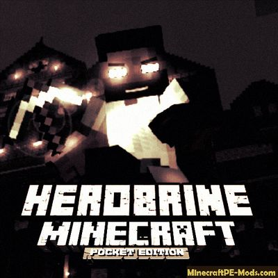 The Return Of The Herobrine Minecraft PE Addon