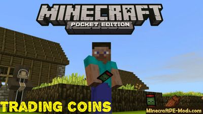 New Trading Coins - Cards Minecraft PE Mod 1.2.0, 1.1.5