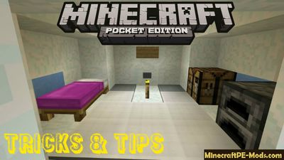 All New Tricks & Tips Minecraft PE Map