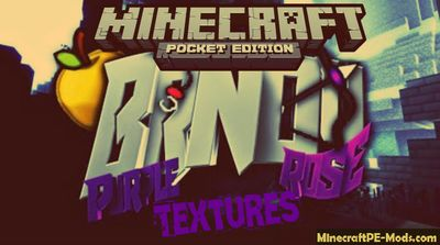 Brndy Rose 16x Minecraft PE Texture Pack 1.2.0, 1.1.5, 1.1.0