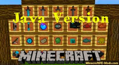 Java Version Minecraft PE Texture Pack 1.2.5, 1.2.3, 1.2.2