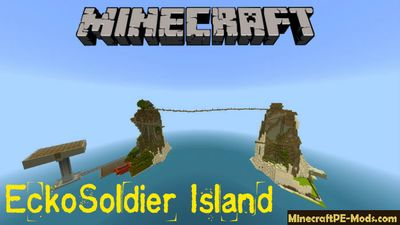 EckoSoldier Island Minecraft PE Bedrock Map