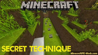 Secret Technique of Parkour Minecraft PE Map