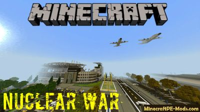 5 Min to Nuclear War Minecraft PE Bedrock Map