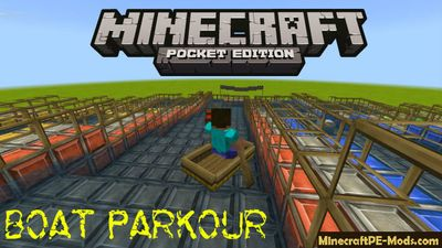 Boat Parkour Mini Games Minecraft PE Map