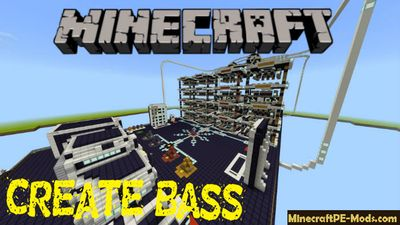 Create Your Own Bass Minecraft PE Bedrock Map