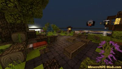 Mini PvP Arena Minecraft PE Map