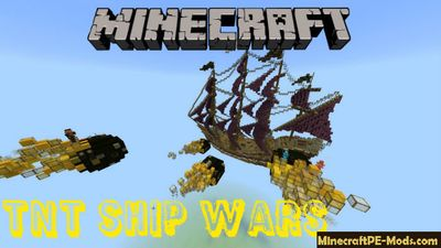 TNT Ship Wars Minecraft PE Bedrock Map