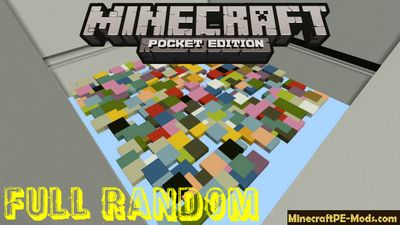 Full Random Minecraft PE Bedrock Edition Map
