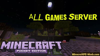 All Games Minecraft PE Bedrock Edition Server