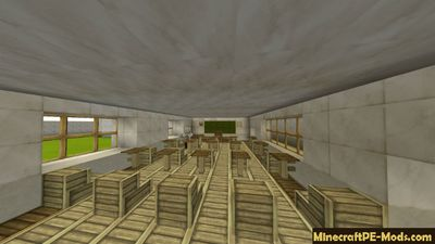 Real High School Minecraft PE Map Win 10 - iOS