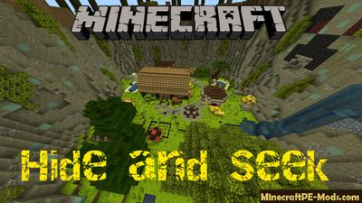 Hide & Seek Minecraft PE Bedrock Modded Map