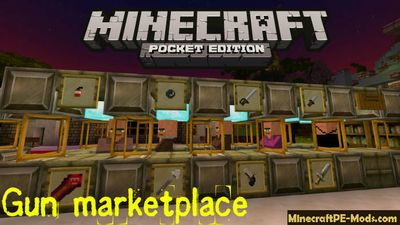 Gun Marketplace Minecraft PE Map