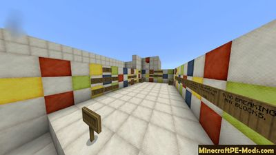 Agility Mini Game Minecraft PE Bedrock Map