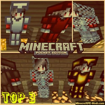 TOP 3 PvP Minecraft PE Bedrock Texture Packs 1.2, 1.1.5