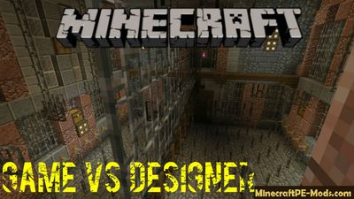 Saw: Game vs Designer Minecraft PE Map