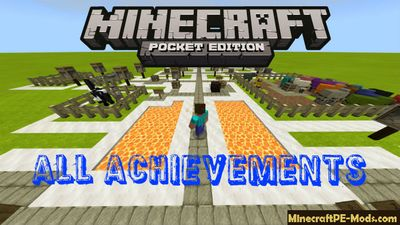 Unlock All Achievements Minecraft PE Bedrock Map