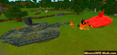 War Thunder Minecraft Bedrock Edition Mod / Addon 1.2.5, 1.2.3