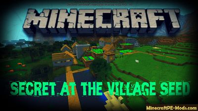 Secret at the Village Minecraft Bedrock Seed