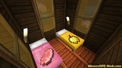 Enhanced Fancy Beds Minecraft Bedrock Addon