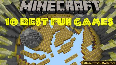 10 Best Fun Games Minecraft PE Bedrock Map