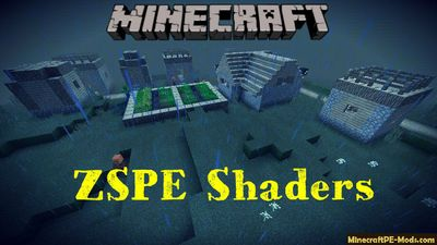 ZSPE Shaders Minecraft PE Bedrock 1.2.13, 1.2.11, 1.2.10