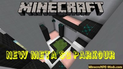 New Meta SG Parkour Minecraft PE Map