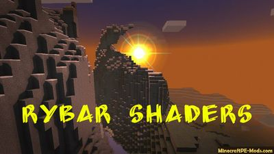 RyBar Shaders Minecraft PE Texture Pack 1.2.11, 1.2.10