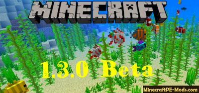 About Minecraft PE 1.3.0 Beta Aquatic Update