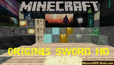 ORIGIN'S SWORD HD Minecraft Java Edition Textures 1.12.2, 1.12