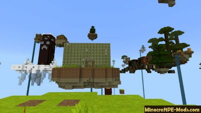 World Of Survival Minecraft PE Bedrock Map