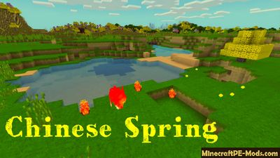 Chinese Spring Minecraft Bedrock Texture Pack 1.2.11, 1.2.10