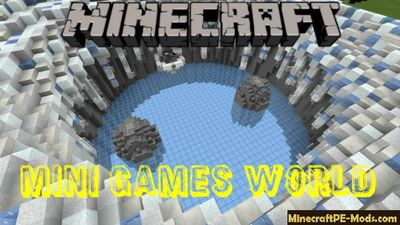 Mini Games World Minecraft Bedrock Map