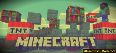 New Physics Of Blocks Minecraft PE Mod 1.3.0, 1.2.11, 1.2.10