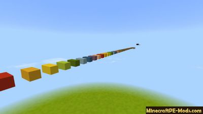 Quick Parkour Minecraft PE Bedrock Map