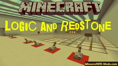 Logic and Redstone Minecraft PE Bedrock Map