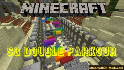 SG Double Parkour Minecraft PE Bedrock Map