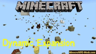 Dynamic Expansion Minecraft PE Bedrock Map