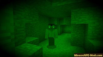 New item - Night Vision Goggles Minecraft PE Mod 1.7, 1.6.0, 1.5.3