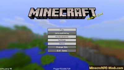 Bedrock UI Enhancements Minecraft PE Textures 1.5.0, 1.3.0